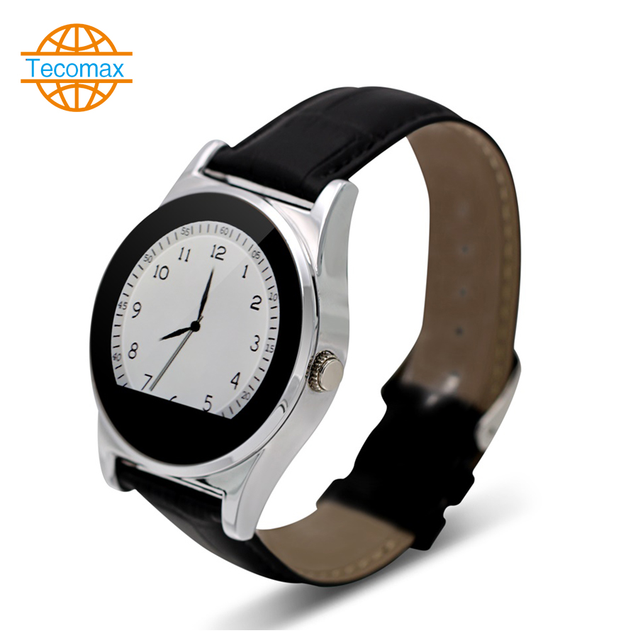 Circular screen 1 22inch font b Smartwatch b font IPS OGS HD screen Smart Watch MTK2502