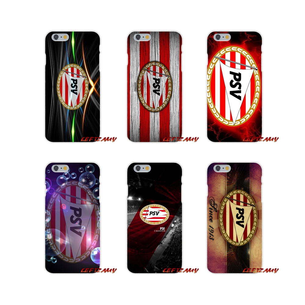 PSV Eindhoven Soccer Logo Slim Silicone phone Case For Samsung Galaxy S3 S4 S5 MINI S6 S7 edge S8 S9 Plus Note 2 3 4 5 8
