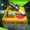 Conjunto (4) Nova marca 2756 bkr6e-11 NGK níquel vela cobre 2756 Para Chevrolet Lova, Aveo, Honda Fit Ciy