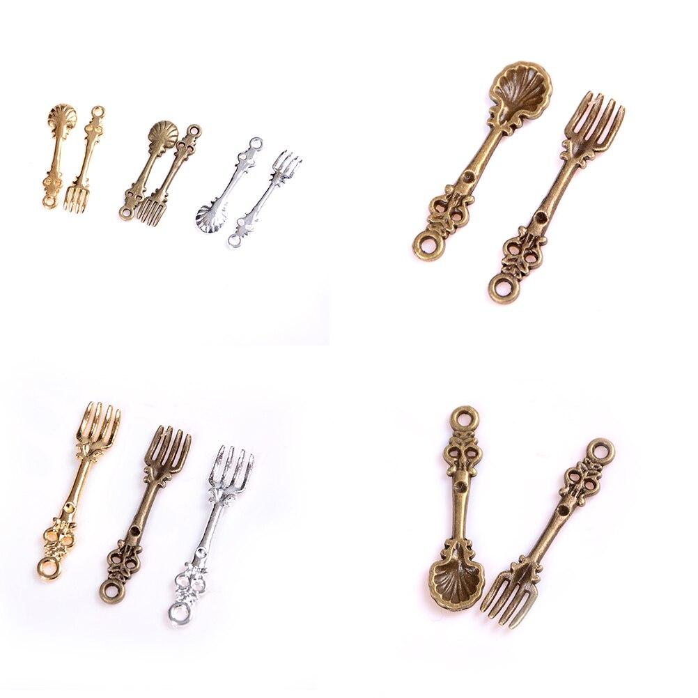 Juguete Casa de Muñecas Cocina 1:12 cuchillo Miniatura Tenedor Cuchara Vajilla de Plata Set 12 un