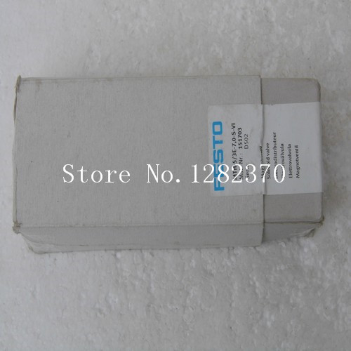 New original authentic FESTO solenoid valve MTH-5 / 3E-7,0-S-VI stock 151 703 new in stock ve j62 iy vi j62 iy