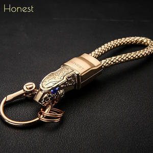 HONEST Men Car Key Chain Jewelry KeyChains Bag Pendant