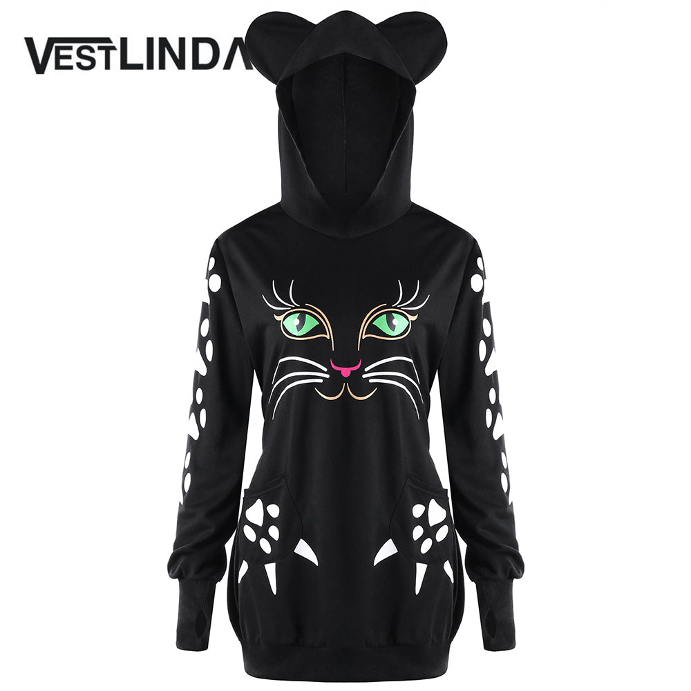 Aliexpress.com : Buy VESTLINDA Plus Big Size 5XL Cat Ear ...