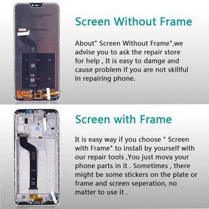 "Image 4 - 5.84 ""LCD תצוגה עבור שיאו mi אדום mi 6 פרו מגע מסך Digitizer עצרת מסגרת זכוכית סרט עבור Xiao mi mi A2 לייט LCD"