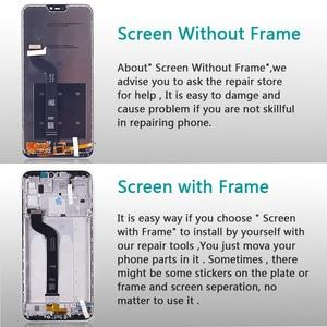 """Image 4 - Wyświetlacz LCD 5.84 """"dla Xiao mi Red mi 6 Pro montaż digitizera ekranu dotykowego rama szklana folia dla Xiao mi mi A2 Lite LCD"""