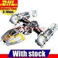 Clon 10134 MOC LEPIN 05040 1473 Unids Starfighter de Star Wars Y de Ataque del ala Modelo Kits de Construcción Juguetes de los Ladrillos Bloques regalo