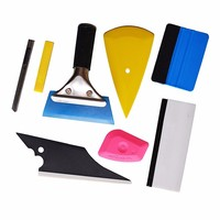 7 In 1 Vehicle Glass Protective Film Car Window Wrapping Tint Vinyl Installing Tool Squeegees Scrapers