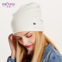 ea4283419e0 ... ENJOYFUR Spring Autumn hats for women knitted wool beanies hat 2017 new  good quality female hat. 57% Off. 🔍 Previous. Next. Previous. Next