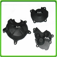 купить Racing Engine Cover Set Protection Guard For Kawasaki ninja ZX-6R ZX6R 2009 2010 2011 2012 по цене 6382.86 рублей