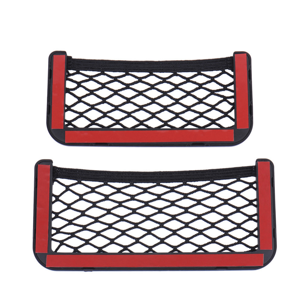 208CM 815CM Universal Net Car Seat Side Storage Bag Pocket