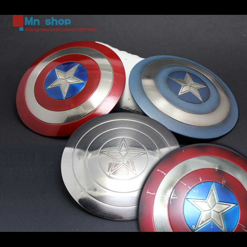 ФОТО 1/6 Soldier Figure Accessory America Captain Shield With the Effect of Drawing for 12