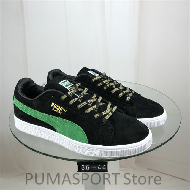 c11f8db4b398 New Arrival PUMA Suede 50 Classic x Xlarge Men s and Women s Breathable  Sneaker Badminton Shoes Size36-44