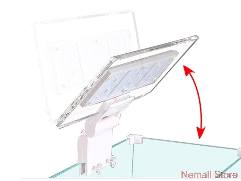 Chihiros LED pour aquarium éclairage SUNSUN AD-320 série couvercle Clip-on acrylique aménagement lampe lumière Aquario aquarium