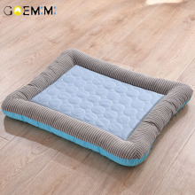 Summer Cooling Pet Dog Mat Ice Pad Dog Sleeping Mats For Dogs Cats Pet Kennel Top Quality  Cool Cold Silk Bed For Dog цена