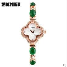 Skmei леди часы необычные часы браслет для женщин новые Кварцевые Наручные Часы Мода & Casual