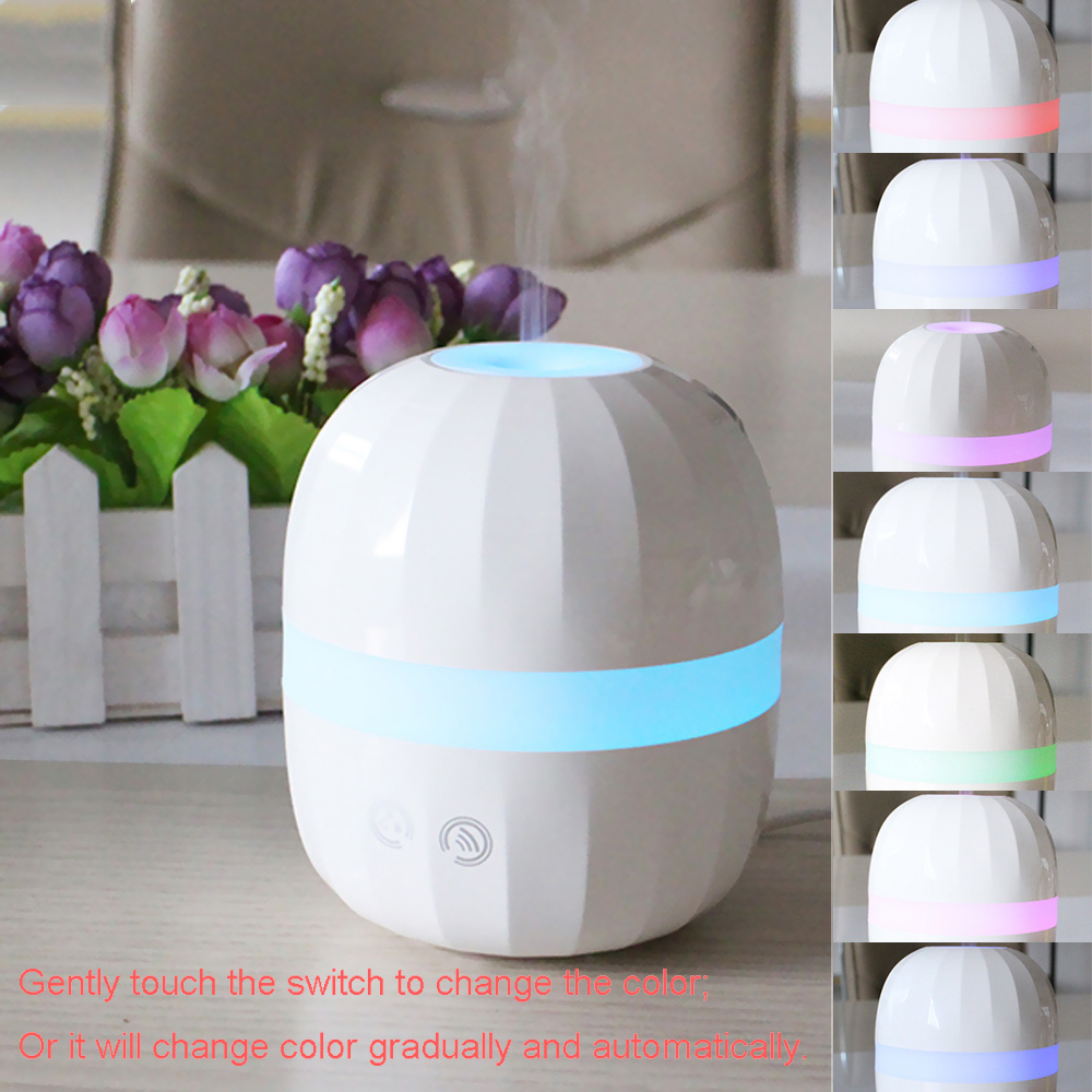 Aroma night lamps - New Ultrasonic Aroma Diffuser 100ml Air Humidifier Led Night Light Essential Oil Adjustablecolor Changing For Children S