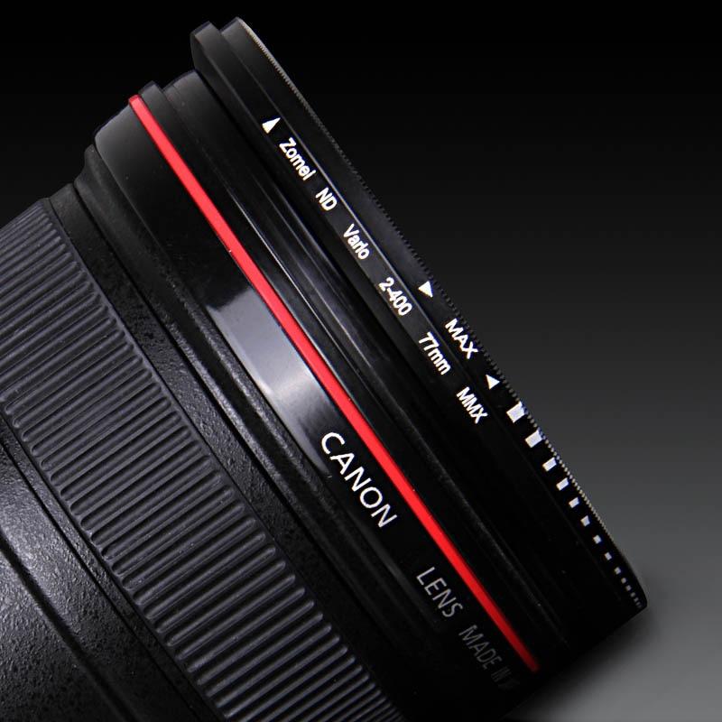 Image 5 - Zomei 77 مللي متر ترويسة متغير ND تصفية قابل للتعديل ND2 إلى ND400 ND2 400 الكثافة المحايدة لكانون نيكون هويا سوني كاميرا عدسة 77 مللي متر-في فلاتر الكاميرا من الأجهزة الإلكترونية الاستهلاكية على AliExpress