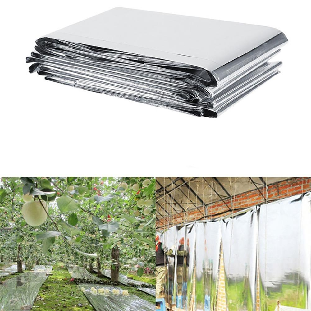 Foldable PETP Plant Reflective Film Cover Solar Transmitting Film Garden Greenhouse Grow Light Accessories 83