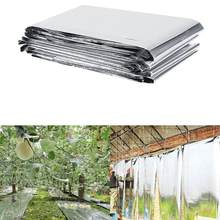 Foldable Petp Plant Reflective Film Cover Solar Transmitting Garden Greenhouse Grow Light Accessories 83 X 47