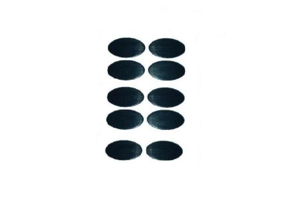 10ピースマウスskatez/マウスフィート用ロジクールmx500、MX510、mx518、700、900 (2セットの交換足)