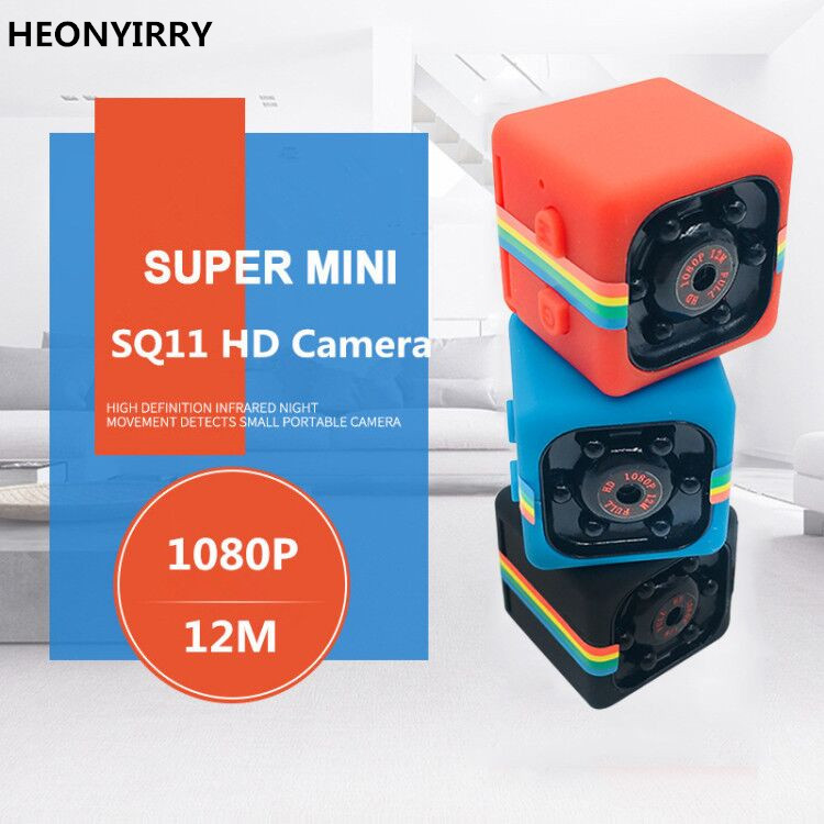 Portable SQ11 SQ12 HD 1080 P Maison De Voiture CMOS Capteur Nuit Vision Caméscope Mini Caméras Caméra DVR DV Enregistreur De Mouvement Caméscope sq8