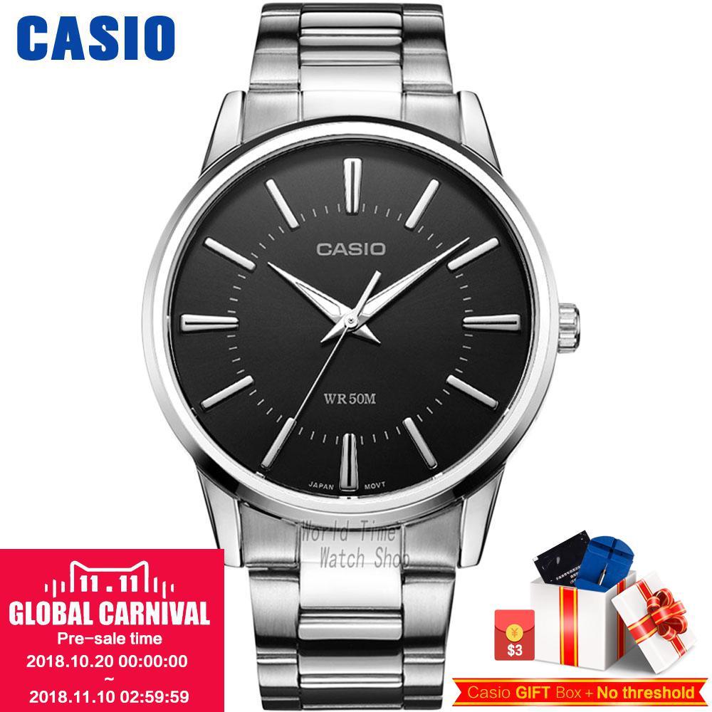 Casio watch Men's Hand Business Men's Watch MTP-1303D-1A MTP-1303D-7A MTP-1303D-7B MTP-1303L-1A MTP-1303L-7B MTP-1303SG-7A цена и фото