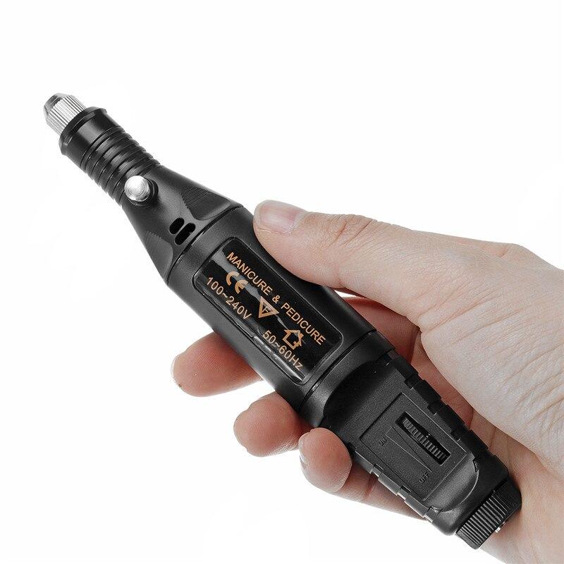 AC 100-240 В Портативный электрический шлифовальный станок гравировальный фрезерный карандаш шлифовальный фрезерный роторный инструмент 20000 О...