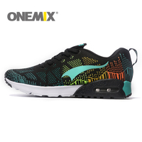 ONEMIX Shock Absorption Running Shoes Cool Light Breathable Sport Shoes For Men Sneakers for Outdoor Jogging Walking Shoes
