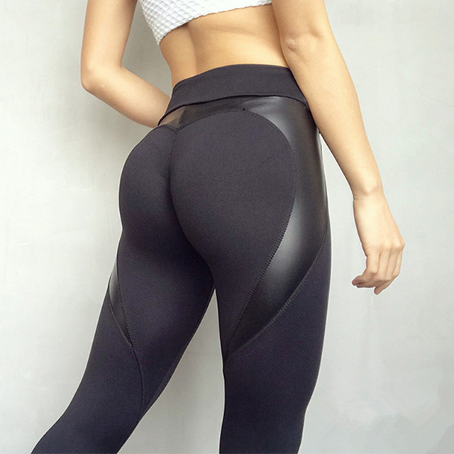 Booty in yoga pants