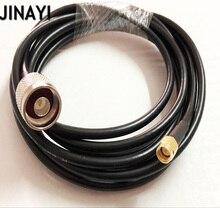 Câble pour cavalier, Extension Coaxial RF, 1m 3M 5M, SMA mâle vers N mâle, 10/15/20/30m