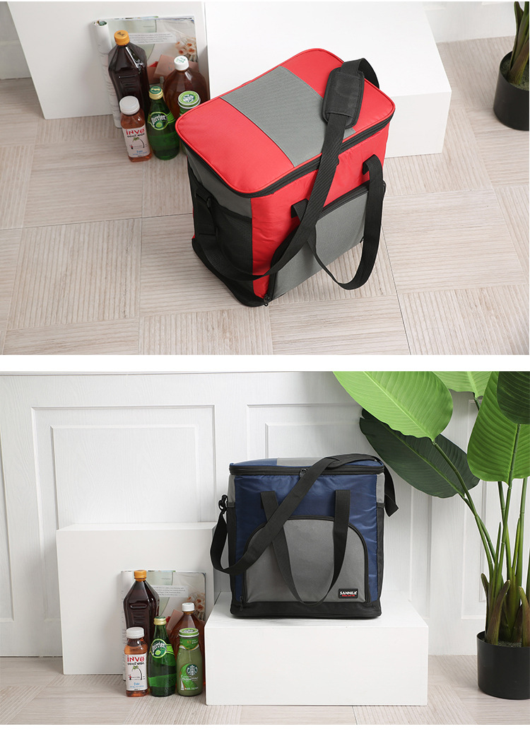 25l qualidade oxford dobrável saco refrigerador praia