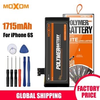 MOXOM Mobile Phone Battery For iPhone6S Real 1715mAh High Capacity iPhone6S Battery Replacement Phone Battery Lithium Battery