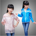 Children's summer wear coat girls summer ultra-thin movement use air conditioning unlined upper garment for kids Casual jacket
