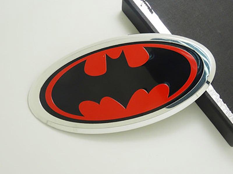 Auto Parts Coupons >> SUKO Metal Hero Batman Logo Emblem Decal Sticker Car Styling Fender Gas Tank Hood Decoration ...