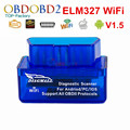 Super MINI V1.5 Hardware White Diagmall ELM327 WIFI Supports All OBD2 Protocols ELM 327 WI-FI For Android Torque/iOS/PC