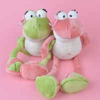 2 Pcs NICI Frogs Plush Toy for Cute Baby/ Kids Gift, Plush Doll Free Shipping