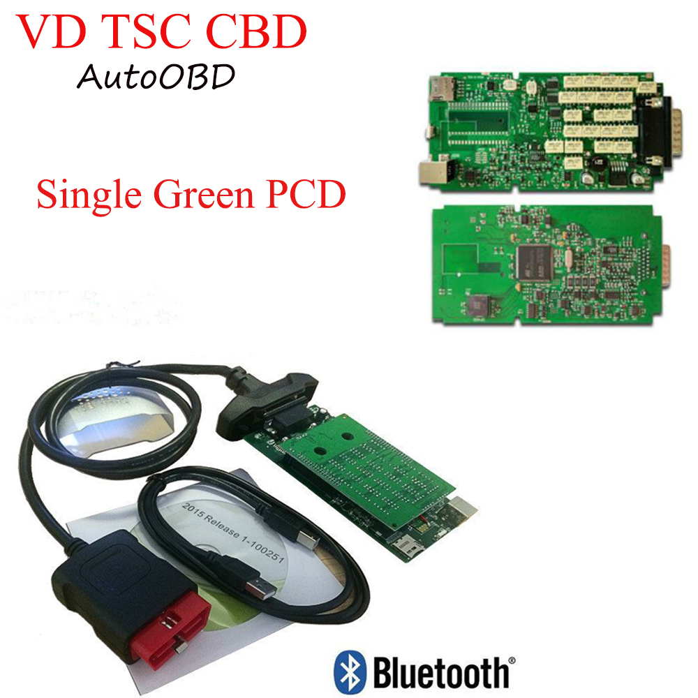DHL Quality A Green Single PCB Board For delphis VD ds150e CDP For VD TCS CDP