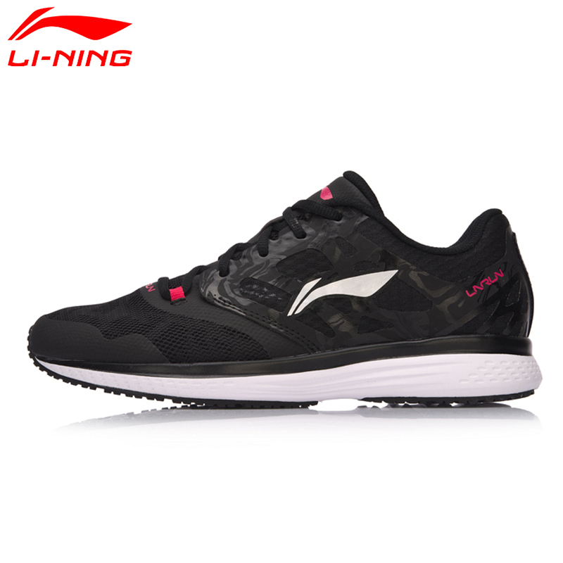Li-Ning Women Shoes SPEED STAR Cushion Running Shoes Textile Breathable Sneakers EVA Light Li Ning Sports Shoes ARHM032 li ning women walking shoes light weight textile