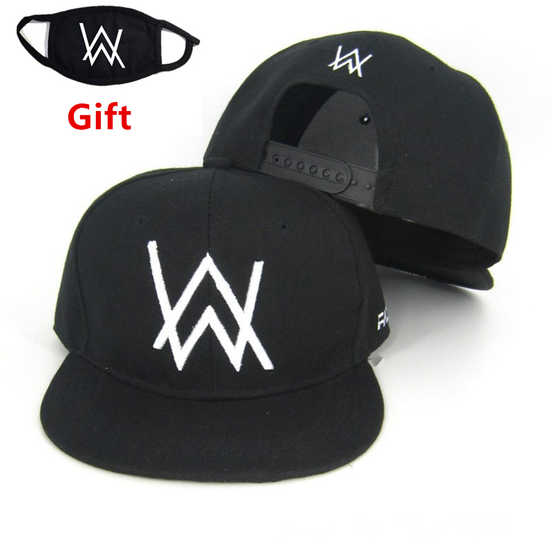 92bf2a5cd US $4.99 |Mask as gift Black Alan Walker Faded baseball cap snapback hip  hop Bboy Rapper MC DJ dancer embroidered adjustable men women cap-in Men's  ...