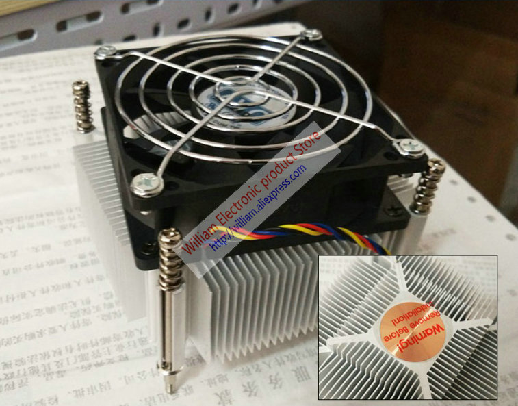 New Original AVC for Lenovo TD340 server original CPU cooler fan support E5 1356 XEON 1366 original server board z9pa d8 double cpu c602 chip 2011 pins