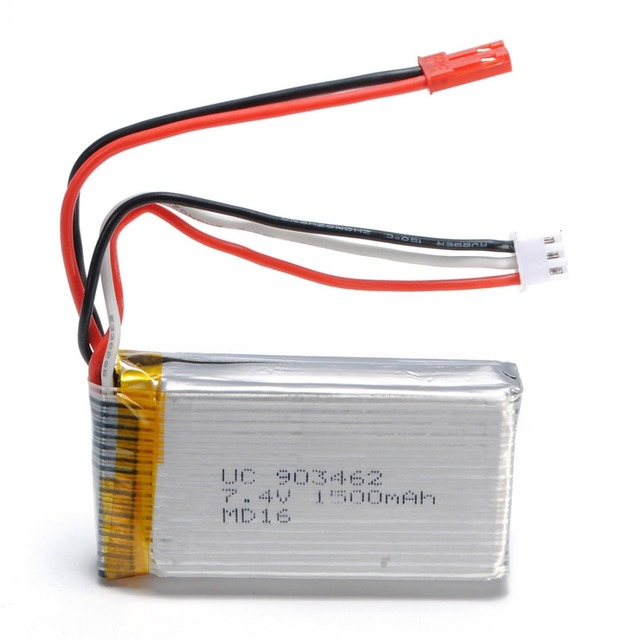 7.4V 1500mAh Battery V913-25 For WLtoys V913 L959 L969 L202 K959 / TY923 / Huajun HJ817 RC Helicopter Spare Parts