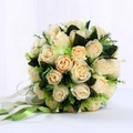 Artificial Silk Wedding Bouquets for Bride Hand Holding Flowers Handmade Wedding Bridal Bouquet Accessories SA892