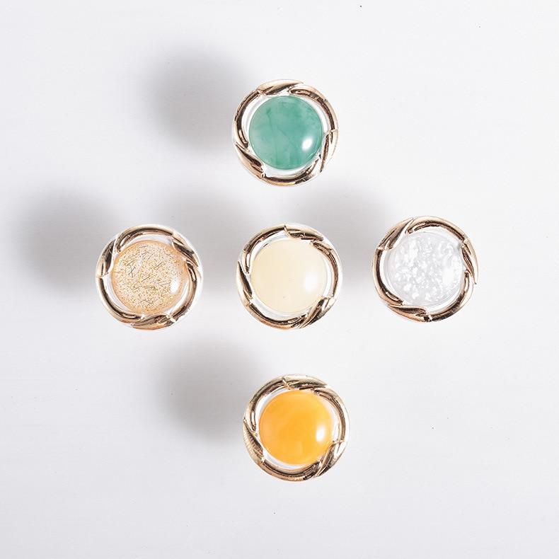 lot White Ceramic Crystal Glass Door Knob Drawer Cabinet Kitchen Wardrobe Handle #S018Y# High Quality