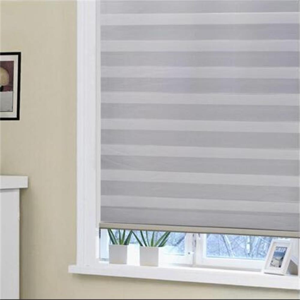 Window Curtain Guide Or Motorized Blackout Room Darkening 100% Blackout Zebra Blinds