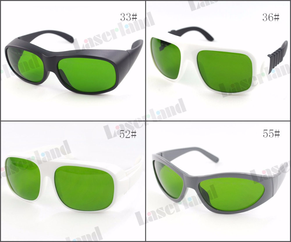 Laserland LP-DTY CE 980nm 1064nm ND:YAG 800nm-1700nm OD4+ 900nm-1100nm OD5+ Laser Protective Goggles Safety Glasses Eyewear ep 8 9 190nm 470nm uv 800nm 808nm 1700nm od5 ir laser protective goggles glasses