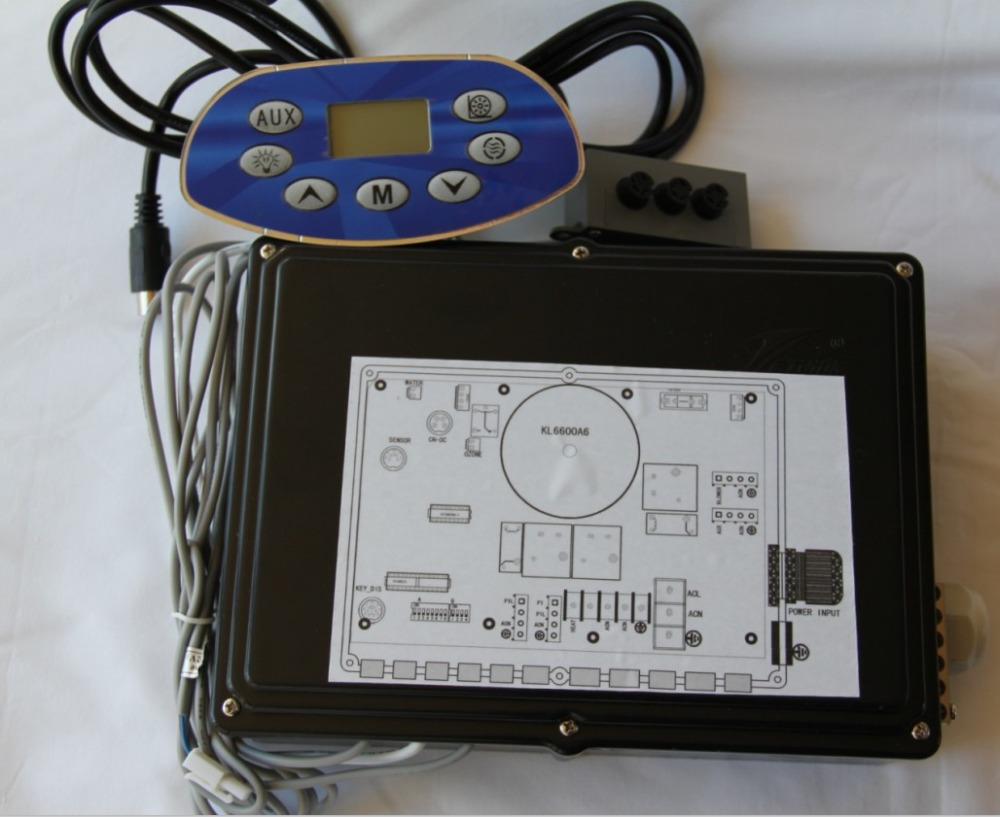 KL6600A6 spa contrôleur spa serveur remplacement pour chinois spa marque JNJ, Monalisa, jazzi, yehua sanitaires