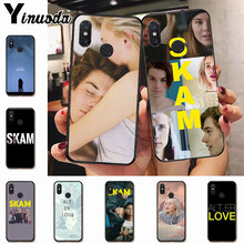 Ynuoda Norwegian Tv Skam Hot Fashion Fun Dynamic phone case for xiaomi mi 8 se 6 note3 redmi 5 5plus note 5 case coque(China)