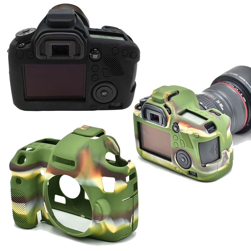 For Canon EOS 6D Camera Bag Case Camera Case Bag Anti-Scratch Soft Silicone Rubber Protective Camera Body Cover Case Skin EOS 6D