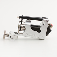 Silver STEALTH 2.0 Aluminum Rotary Tattoo Machine Liner Shader Supply Ink tattoo gun Free Shipping