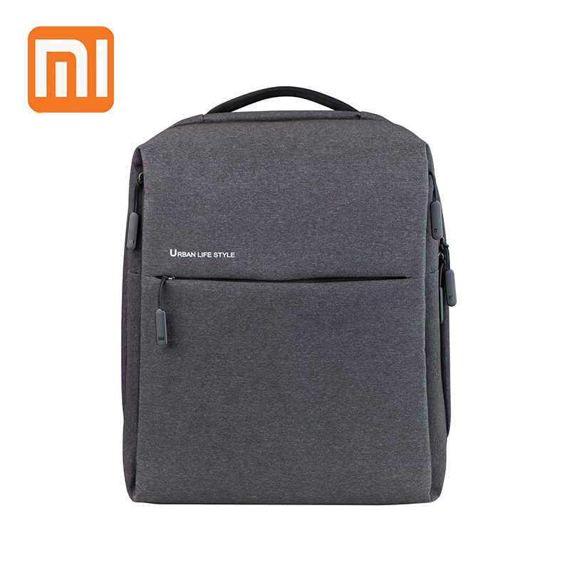 XIAOMI 14 inch Laptop Backpack Multi functional Urban Life Computer Bag Waterproof Causal College School Men